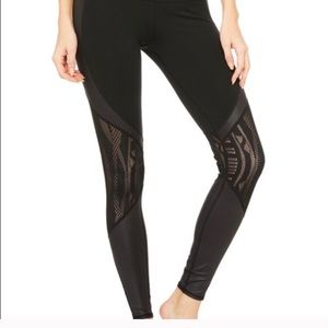ALO Yoga- Sexy Lace Leggings XS